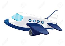 illustration of private jet plane royalty free cliparts vectors