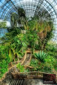 Oklahoma City Botanical Garden Bridge Tropical Conservatory In Downtown Oklahoma Flickr