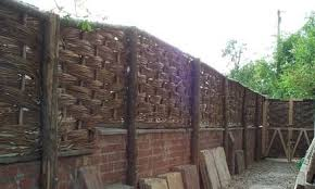 willow hurdle 6ft x 3ft from natural fencing