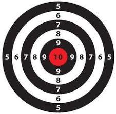 printable shooting targets pdf more good printable shooting targets targets pinterest