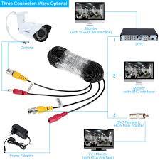 40m to feet aliexpress com buy lofam 40m 132feet cctv bnc dc plug cable for