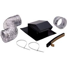 vent bathroom fan through roof broan roof vent kit rvk1a the home depot
