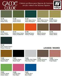 Vallejo Game Color Wash - vallejo game color 17ml acrylic paints of your choice ebay
