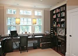 Built In Desk Ideas For Home Office Built In Desk Ideas Home Office Traditional With Pendant Lighting