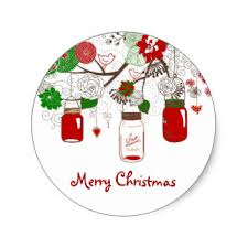 christmas stickers country christmas craft supplies zazzle