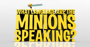 quote up meaning in hindi what language are the minions speaking