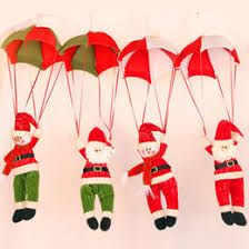 Outdoor Christmas Decorations For Sale Uk by Parachuting Santa Decoration Online Parachuting Santa Christmas
