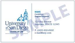 student business card student business cards school of of san diego