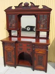 Oak Buffet And Hutch by Antique Sideboards And Antique Servers From Antique Furniture Mart