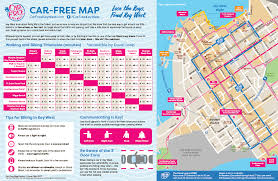 Florida Lighthouses Map by Bike Transit And Car Free Maps Key West Fl