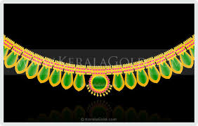 nagapada thali traditional gold ornaments of kerala