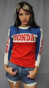 motocross jerseys custom vintage 70s 80s team honda motocross jersey t shirt x small ebay