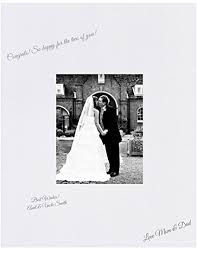 signable wedding platters 16x20 white signature and autograph picture mat for