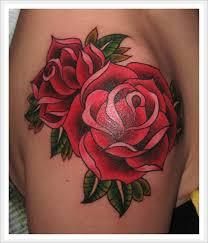 65 trendy roses shoulder tattoos