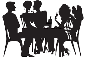 dinner silhouette fewer u0027dinner party landlords u0027 predicted bestadvice