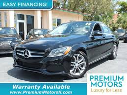 mercedes warranty information 2017 used mercedes c class c 300 sedan at premium motors