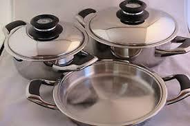 batterie de cuisine amc original amc ensemble des casseroles 5 pièces pots de cuisine
