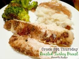 crock pot roasted turkey breast