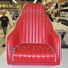 Upholstery Custom Donzi Classic Upholstery Custom High Backed Bucket Seat Upholstery