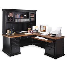kitchen collection southton kathy ireland home by martin southton l desk optional hutch