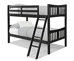 Hardwood Bunk Bed Storkcraft Caribou Solid Hardwood Bunk Bed Black