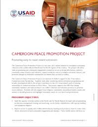 cameroon peace promotion project u s agency for international