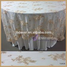 cheap lace overlays tables tl002k jenny bridal brand wedding party gold polyester lace fancy