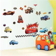 online get cheap car wall murals aliexpress com alibaba group 8091 pixar cars stickers 50cm 70cm children cartoon wall sticker kids room vinyl removable