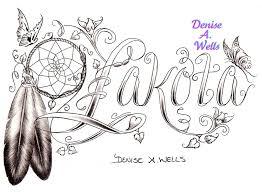 lakota dreamcatcher eagle feather tattoo design by denise u2026 flickr