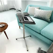 side table with laptop storage side table bedside table laptop desk laptop bedside table