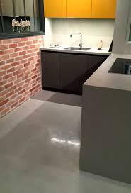 beton ciré pour plan de travail cuisine cuisine béton ciré plan travail mur sol crédence lancelin cuisiniste