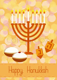 hanukkah greeting card hanukkah menorah candles dreidel with
