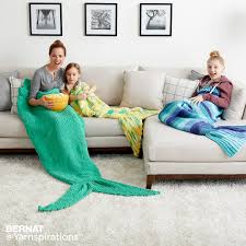 bernat crochet mermaid tail snuggle sack crochet pattern