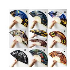 fan favors folding paper fan wedding party