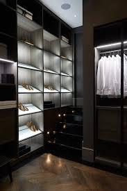 walk in closet lighting home interior luxury walk in closet decor idea with recessed led