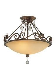 Bronze Semi Flush Ceiling Light by Sf190mbz 2 Light Indoor Semi Flush Mount Mocha Bronze