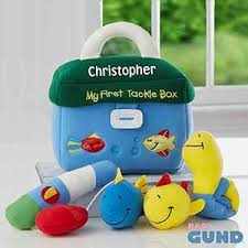 baby engraved gifts my tackle box personalized playset by baby gund
