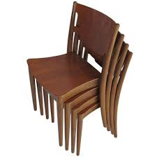 stacking dining room chairs stackable chair west elm banquette bar