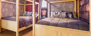 Harry Potter Bed Set by Sunkissed Villas Sunkissed Villas Championsgate Resort Harry