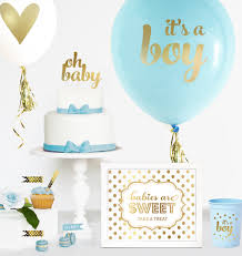 gold baby shower baby shower balloons set of 3