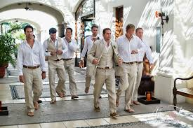 grooms wedding attire groom attire for your cabo wedding