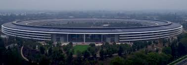 drone footage the steve jobs theater inside the new apple park