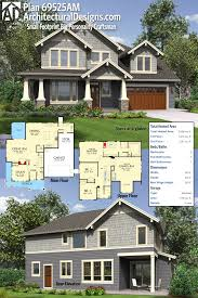 plan 69525am small footprint big personality craftsman house