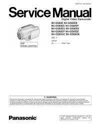 panasonic nv gs80 85 manual reparatii electrostatic discharge