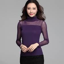 purple blouse plus size autumn mesh purple blouse lace shirts white lace blouse