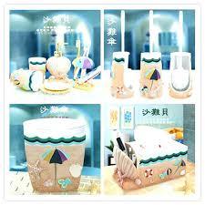 Seashell Bathroom Rug Charming Bathroom Accessories Sets Parsmfg