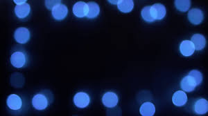 blue christmas lights abstract blue christmas lights blurry bokeh background stock