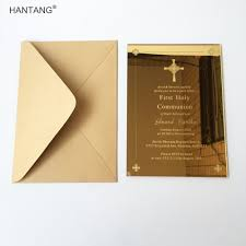 Baptismal Invitation Card Design Online Buy Wholesale Christening Invitation Card From China