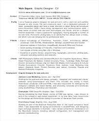 sample freelance resume freelance graphic design resume sample