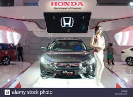 motor honda indonesia makassar indonesia 18th may 2016 honda exhibits the all new
